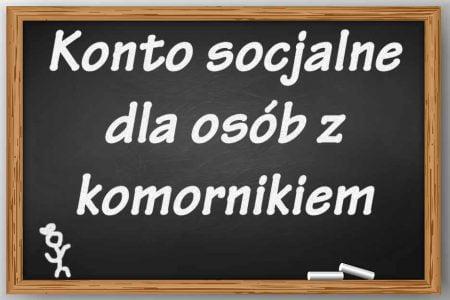 Konto socjalne - lekcja