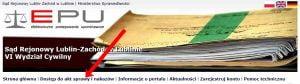 dostęp do akt sprawy i nakazów w e-sądzie