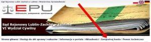 E-sąd- rejestrujemy konto