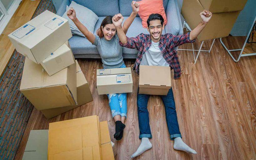 Młodzi kupują mieszkanie