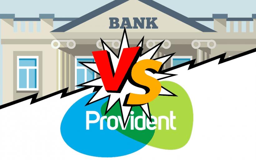 Provident konkuruje z bankami