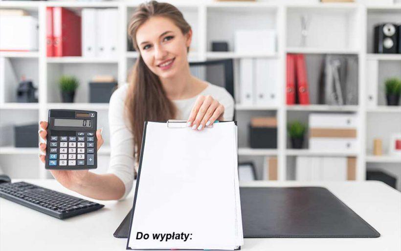 Obliczenie wynagrodzenia do zapłaty