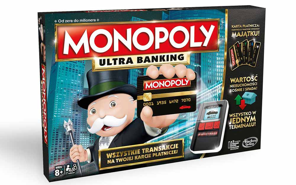 Najpopularniejsza gra o finansach - klasyczne Monopoly