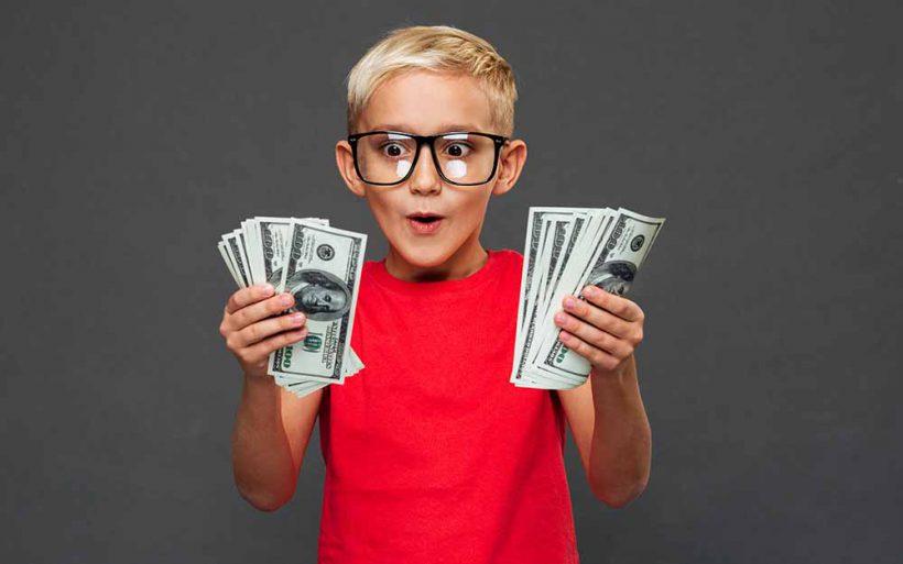 Dzieciaki mówią o pienieądzach