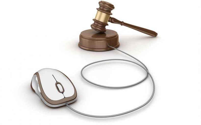 sprawy w sądzie rejonowym przez Internet