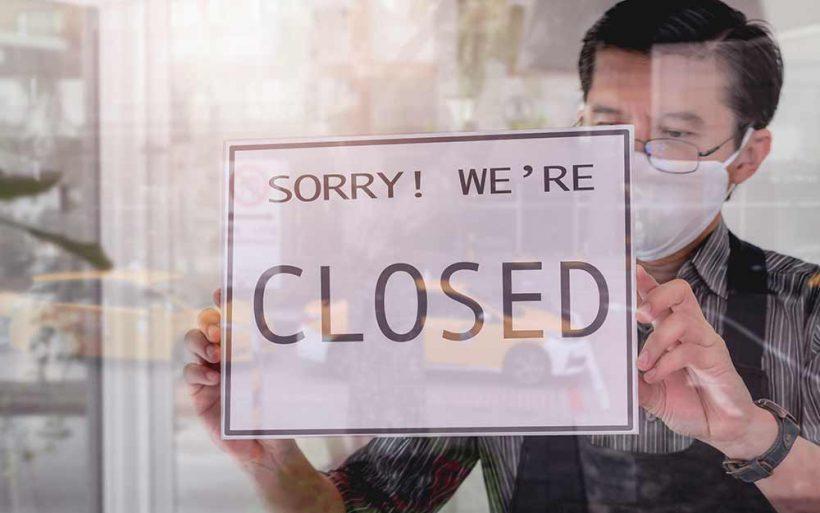 upadek firmy finansowej