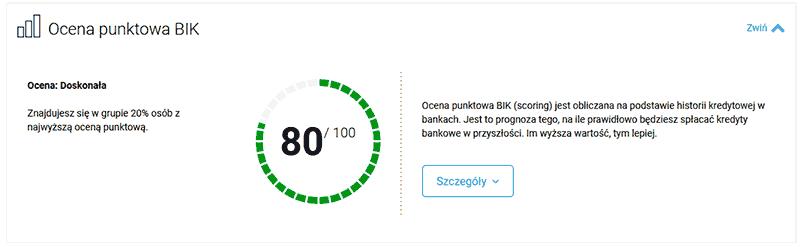 Zaskakujące efekty odbudowy scoringu z mBankiem