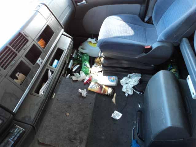 Wypowiedziana umowa leasingu.Zdjęcie pojazdu odebranego dłużnikowi dzięki uprzejmości ING Lease