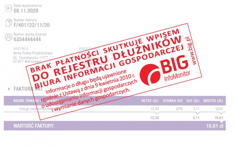 BIG Infomonitor - Biuro Informacji Gospodarczej