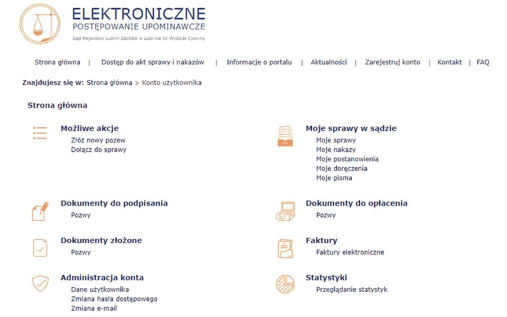 EPU - Elektroniczne Postępowanie Upominawcze to uproszczony sąd